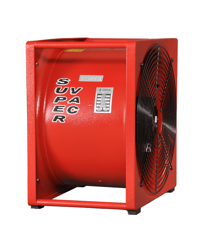 P164s Electric Smoke Ejector Super Vac Ventilation Fans
