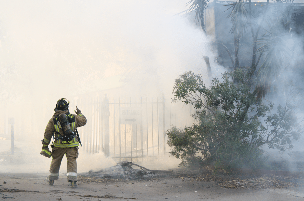 Fire Smoke Scene