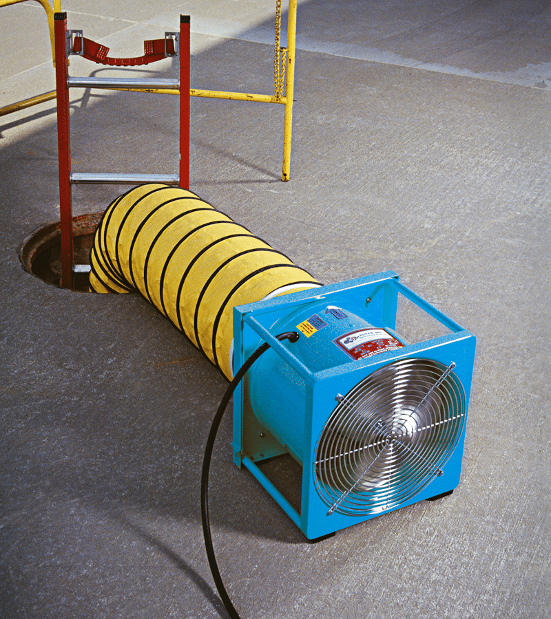 Electric Industrial Ventilator