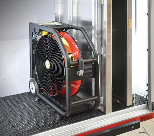 Apparatus Mount Super Vac Ventilation Fans